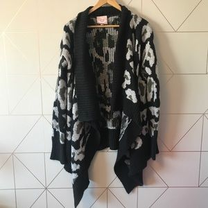 Romeo & Juliet Couture Open Front Cardigan